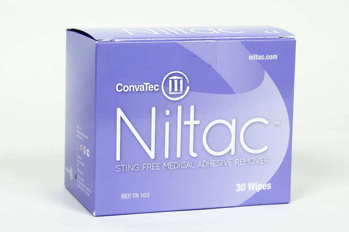 TR102 Niltac Sting-free Adhesive Remover Wipes – Convatec